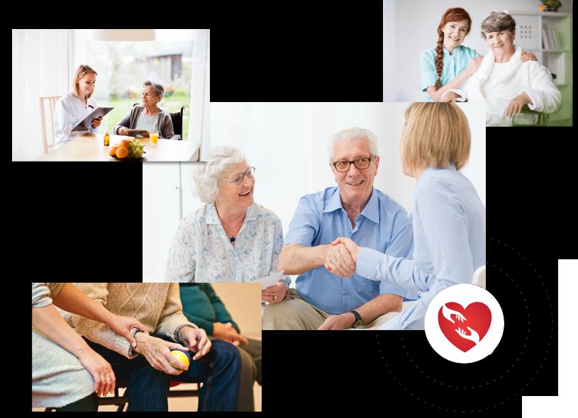 Pflegekonzept 24h regionaler Pflegedienstleister setzt auf regionale Betreuung